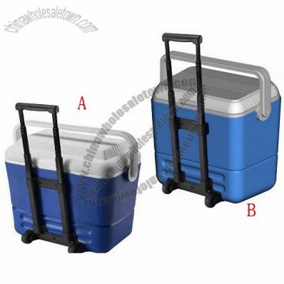 36L Plastic Cooler Box with wheels