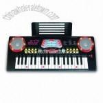 37 Key Flash Electronic Keyboard with Eight Tones and Eight Rhythms