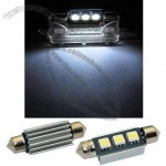 39mm Festoon LED Canbus License Plate Car Light Bulb, 10 to 18V DC Voltage
