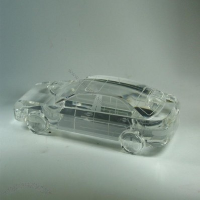 3D Crystal Car Model