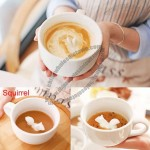 3D Cute Animal Figurine Ceramics Coffee Cup