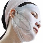 3D Face Line Up Facial Mask, Comes in Hole Type