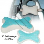 3D GEL Massage Car Pillow