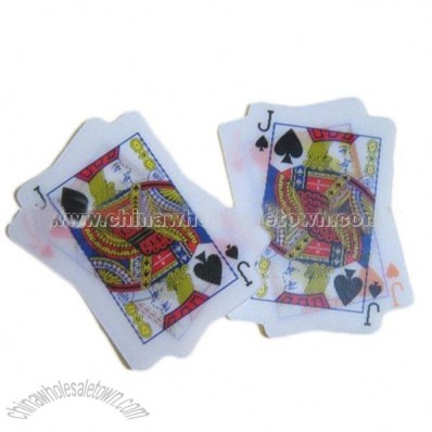 3D Lenticular Playing Card