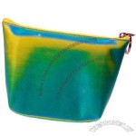 3D Lenticular Purse W/Key Ring Stock / Blue Yellow Green