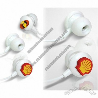 3D Logo Earphones