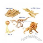 3D Puzzle Animal Wooden Toy