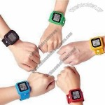 3D Sensor Wristband Pedometer Watch with USB Port