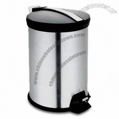 3L Pedal Trash Bin with PP Lid