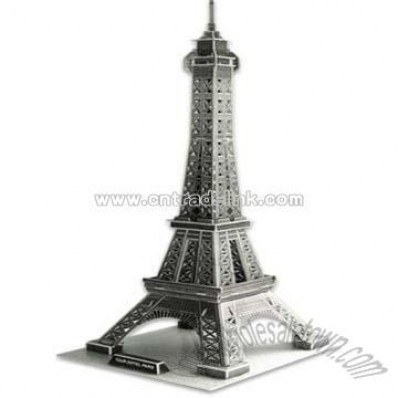 3d Puzzle Eiffel Tower