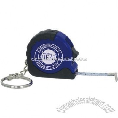 3ft Mini Tape Measure with Key Ring