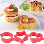 3pcs Cake or Biscuit Mold