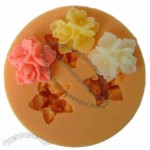 3pcs Flowers Silicone Chocolate Handmade Soap Mould