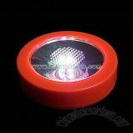 3pcs LED Flashing Light Coaster with On and Off Buttons