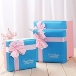 3pcs Square Gift Box Set