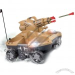 4 Channel Remote Control Amphibious Tanks Shoot Targets