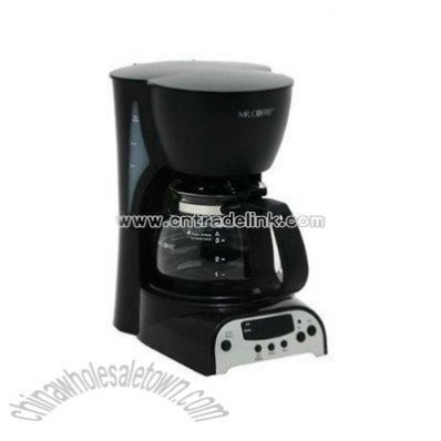 4-Cup Digital Coffeemaker - Black