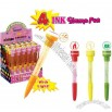 4 IN 1 Bubble Pen Stamp with Light