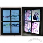 4 Images LED Advertising Magic Mirror