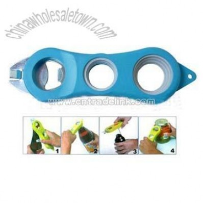 4-in-1 Bottle Opener