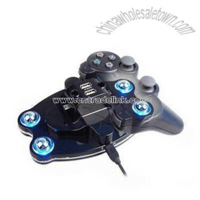 4 in 1 Charge Cradle for PS3 Game Accessories Controller with Blue Light