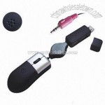4-in-1 Laser Microphone Mouse