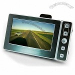 4-in-one ultra-thin Car DVR with GPS