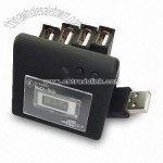 4-port USB HUB with Clock