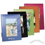 4 x 6 Colorful Brushed Aluminum Photo Frame