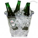 4.5L Clear Transparent Acrylic Ice Bucket