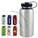 40 oz H2Go Stainless Steel Wide Water Bottle