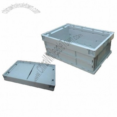 42.3L Foldable Plastic Crate