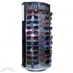 44 Pair Rotating Counter Top Sunglass Display Rack