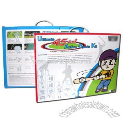 45 In 1 Sports Pack for Wii Video Game Accessories