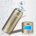 450ml Power Water Bottle With LCD Display Calendar Clock & Temperature and Speaker