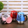 450ml Stainless Plain Lazy Self Stirring Electric Mug
