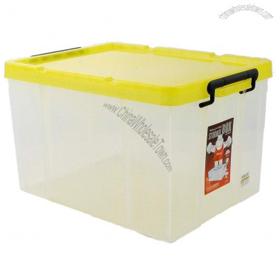 45L Transparent Plastic Storage Box