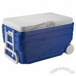 47L Outdoor Sports Rolling Cooler Box