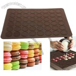 48 holes Macaron Baking Silicone Sheet Mat Cookie Chocolate Mould Mode Decoration Tool Set