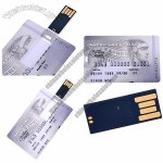 4GB American Express Platinum Double Sided Pattern Credit Card Style Flash Drive