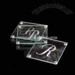 4mm Glass Coasters