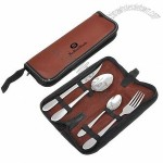 4pcs Portable Stainless Steel Cutlery Set