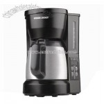 5-Cup Programmable Coffeemaker with Stainless Carafe