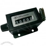 5-Digit Mechanical Counter With Base, Desktop Tally Counter, Clicker Counter, Arithmometer