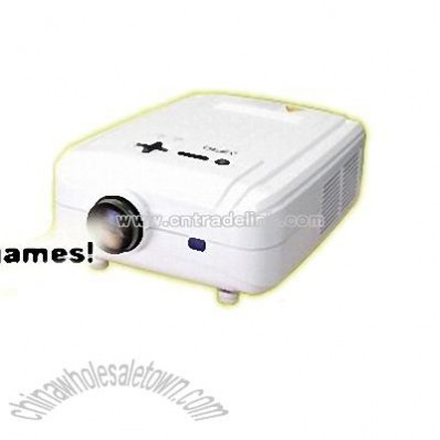 5 Inch Home Theater Projector with DVB-T Support 1080P