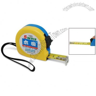 5 Meters Measuring Handy Tape Measure Self-Retract Style