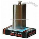 5 Oz. Stainless Steel Hip Flask