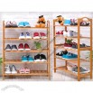 5-Tier Bamboo Shoe Rack