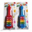 5-Tone Guitar-Shaped Percussion Musical Instrument Toy