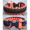 5 X Emergency Whistle Buckles For Paracord Bracelets